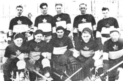 "Hythe ""Maple Leafs"" 1938-39"