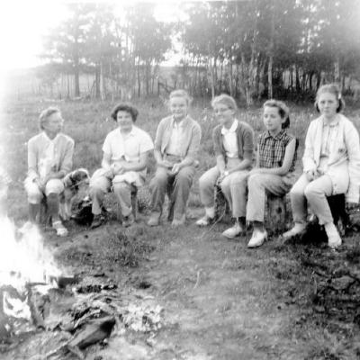 Christian Girls in Training Dawson Creek, B.C. ca 1960's