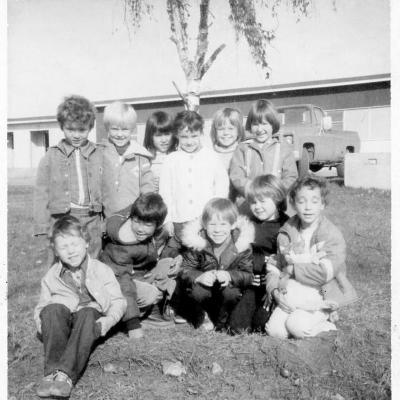Park Hill Elementary School, Kindergarten, Dawson Creek, B.C., 1978