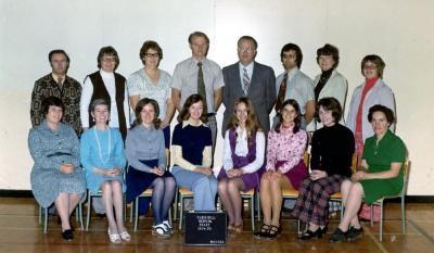 ParkHill Elementary School Staff Dawson Creek, BC 1974 - 1975