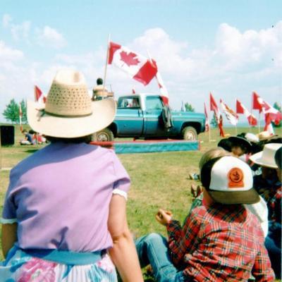 Parkhill School, Dawson Creek, BC 1982