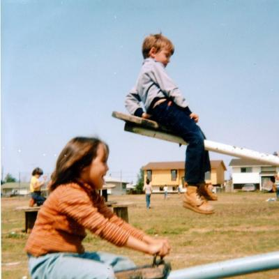 Parkhill School, Chris and Jody Dawson Creek, BC 1982