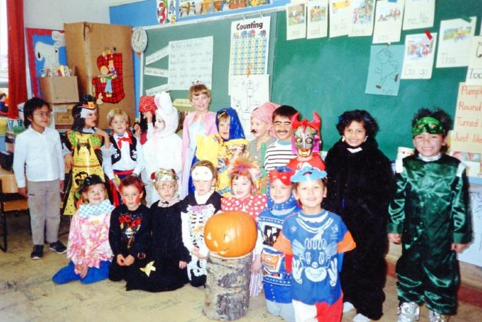 Grandview School, grade 1 Dawson Creek, BC 1986 - 1987