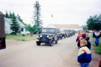 Pouce Coupe Elementary School, Year 2 & 3 Class, Alaska Highway Anniversary Pouce Coupe, BC 1992