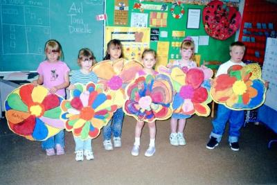 Pouce Coupe Elementary School, Pouce Coupe, 2001