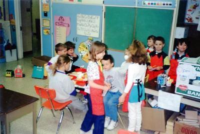 Pouce Coupe Elementary School, Restaurant Centre Pouce Coupe, BC 1994