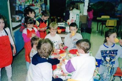 Pouce Coupe Elementary School, Restaurant jCentre Pouce Coupe, BC 1994