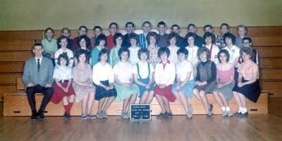 Margaret Slowinski, Dvi 7, Frank Ross Elementary Secondary School. .Dawson Creek, BC 1963 - 1964
