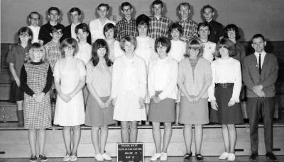 Margaret Slowinski, Grade 10, Frank Ross Elementary Secondary School. .Dawson Creek, BC 1965