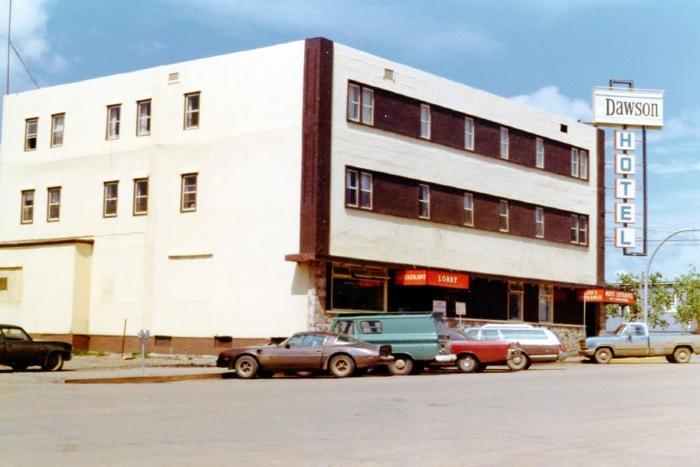 Dawson Hotel Dawson Creek, B.C. June 1, 1977
