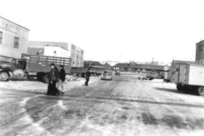 10th Street Dawson Creek, BC 1942-44