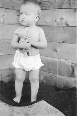 Marie E. Haugen, (her Child) Rolla Area, B.C. September 4, 1936