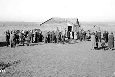 Norden Church, Lutheran Circuit Convention, LaGlace area, Alberta, October 23, 1938