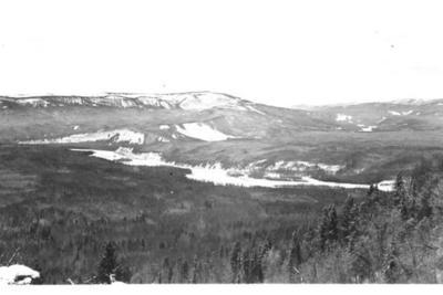 Tetsa and Muskwa Rivers  Alaska Highway  1942-43