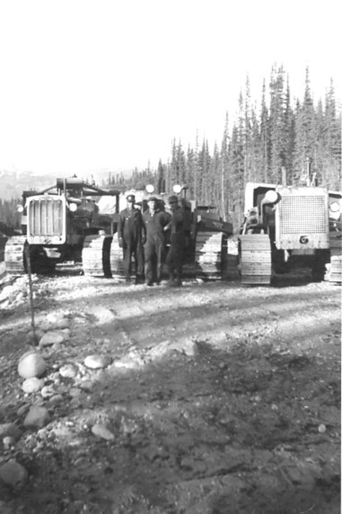Alaska Highway  Construction Equipment  1942