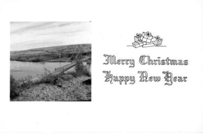 Peace River Bridge  Postcard