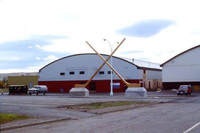 Dawson Creek and District Arena, Dawson Creek, B.C., 1987