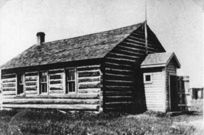 Dawson Creek School  ca 1920
