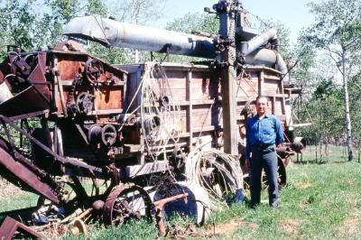 Pioneer Village , Dawson Creek, B.C. October 1980