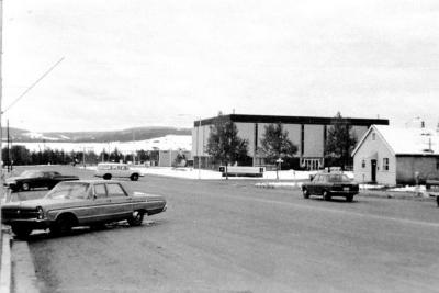 10th Street, Swimming Pool Dawson Creek, B.C. ca 1970's