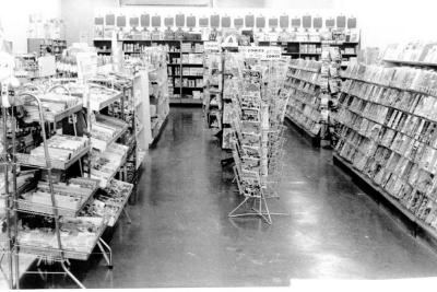 Bill's News and Confectionery Dawson Creek, B.C. January 1972