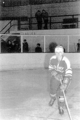 Ted Schilds, Junior Hockey Club. Dawson Creek, B.C. 1965