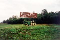Farmington Fairways , Sign  Farmington. B.C.  1993