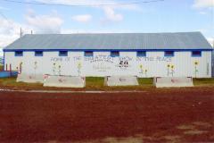 Exhibit building  Dawson Creek, B.C.  2011