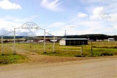 Entrance to Collins Exhibition Park  Dawson Creek, B.C.  2011