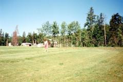 Farmington Fairways , Club house and #1 Tee, Robyn Omilon  Farmington. B.C.  1993
