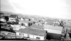 10th St. and 103rd Avenue, south side,  Dawson Creek, B.C. ca 1943