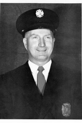 Dawson Creek Fire Department, Volunteer Bill Schilds, Dawson Creek, BC, February 11, 1960