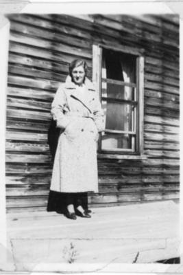 Lake View School  Betty Moulton (Golata) Teacher  1934