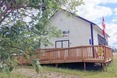 North Rolla Community Hall, North Rolla, B.C. 2017