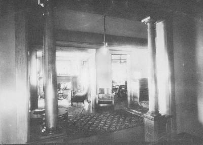 I. Q. Hopkins, livingroom at 721 Garland ave. Los. Angeles, California ca. 1890's