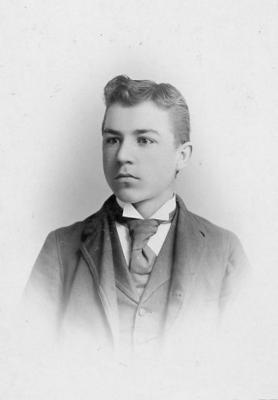 Charles Templeman, Toronto, Ontario November 1893
