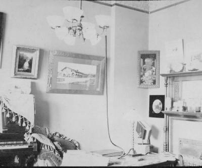 Mr. Vroman's room. The Parlor, April, 1897