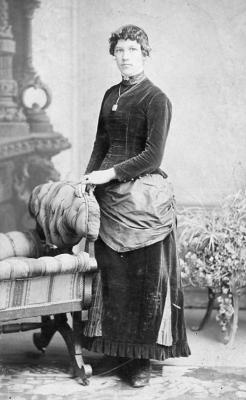 Young lady. photo by W. Still, Photo, Orangeville, Ontario. ca. 1880s