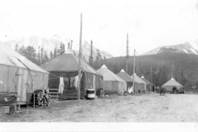 US Army Camp  Alaska Highway  1942-43