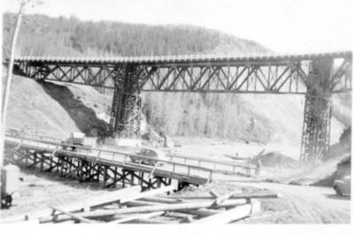 Kiskatinaw River Bridge 