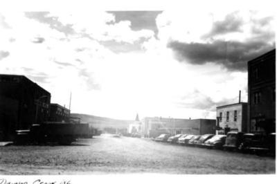 Postcard  10th St. Dawson Creek, BC