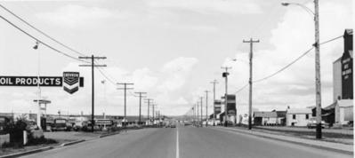 Dawson Creek Alaska Ave  1956