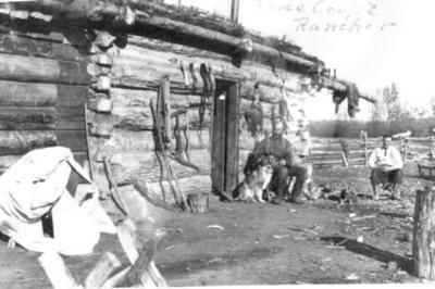 W. Reynold's ranch  Pouce Coupe Prairie ca 1908