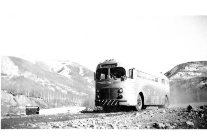Northwest Service Command  Bus Service  Alaska Highway, 1942-43