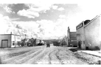 Dawson Creek, BC 1942 postcard