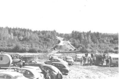 Hart Highway, Parsnip River  1951