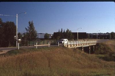 10th Street Bridge  Dawson Creek, BC 1986