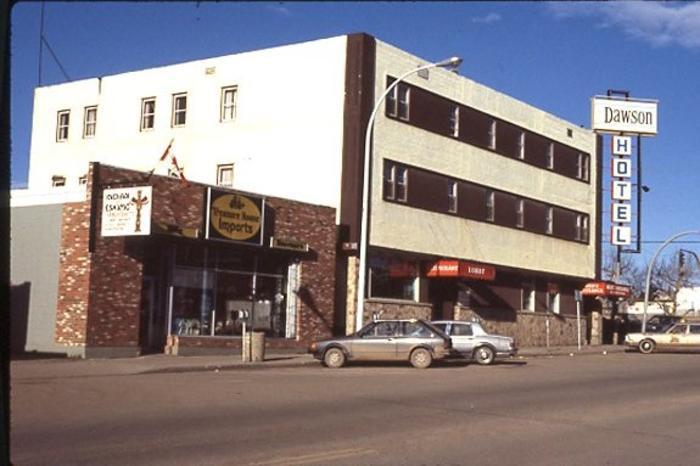 Dawson Hotel Dawson Creek, BC 1986