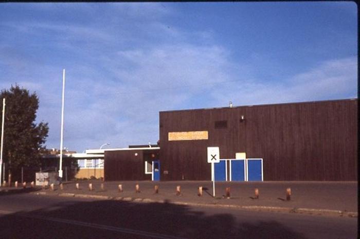 Central Junior Secondary School  Dawson Creek, BC 1986