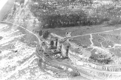 Portage Mt. Damsite  October 1962